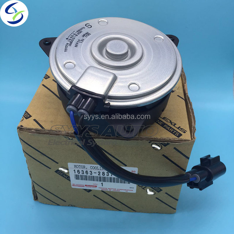 Genuine Brand new TOYOTA Engine Cooling Fan Motor 16363-28370