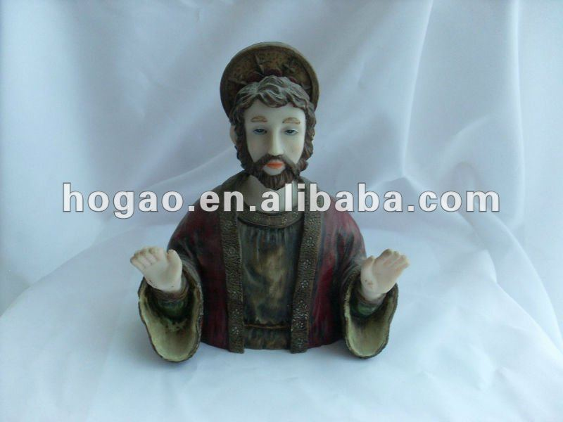 resin religious statue polyresin figurine religious resin craft and gift item christian resin figure