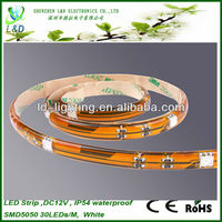 High quality IP44/IP54/IP55/IP65 silicone coated led strips