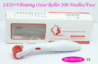 (2014 Best Sale) micro vibrating led derma roller facial roller