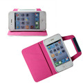 Fashion Design Wallet Card Leather Case for Iphone 4G/4S