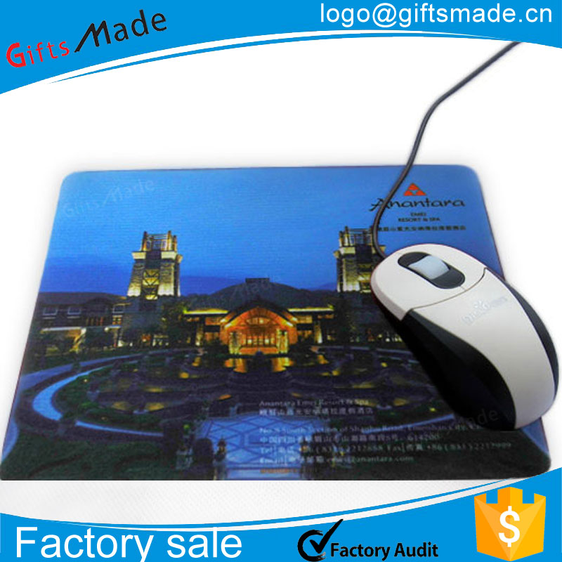 Promotional cheap free sample gaming custom printed mouse pads