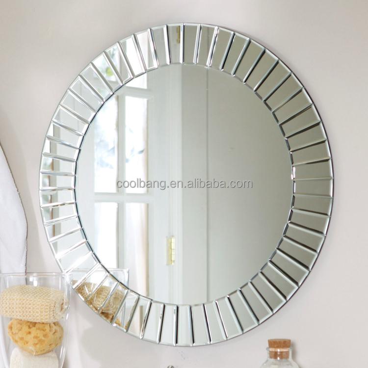 custom made in china diseo espejo de pared decorativos