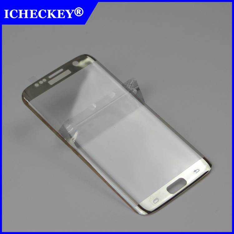 Free Samples High Transparent 3D Curved Full Screen Protector Cover For Samsung S7 edge tempered glass