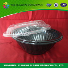 Promotional custom disposable plastic fast food bowls
