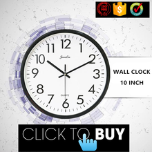 Handmade 3d Retro Rustic Decorative large digital wall clock