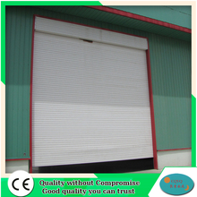 Fast aluminium rolling shutter up door