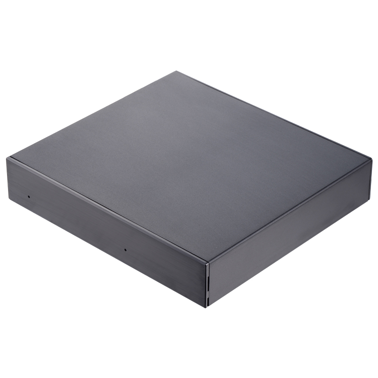 Unestech UT62200U3MB USB 3.0 2-BAY Aluminum HDD/SSD External Enclosure with eSATA Black Color
