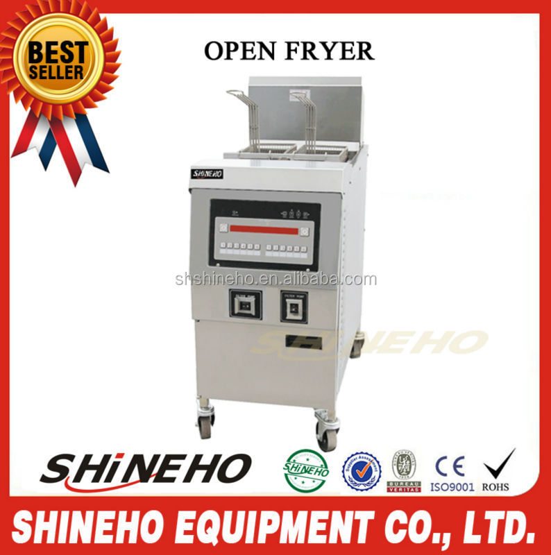 Industrial Potato Chip Maker Machine Gas Deep Fryer