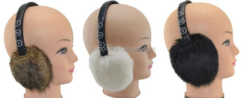 Langder Wireless Bluetooth Fur Earmuffs Headphones in Warm Winter