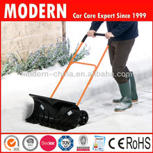 plastic snow pusher