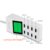 Universal 8 USB Port Display Screen US EU UK Plug Travel AC Power Adapter Socket Smart Wall Charger For Cell Phone Tablet Camera