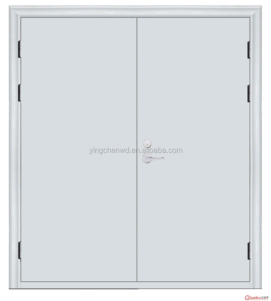china galvanized steel metal fire door prices price