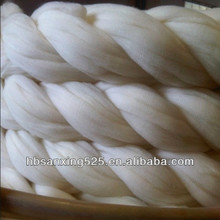2017 New year Promotional China good quality Wool Top Roving Fiber spinning felting weaving