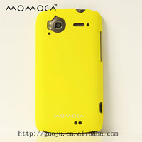 rubberized oil mobile phone case for HTC G14