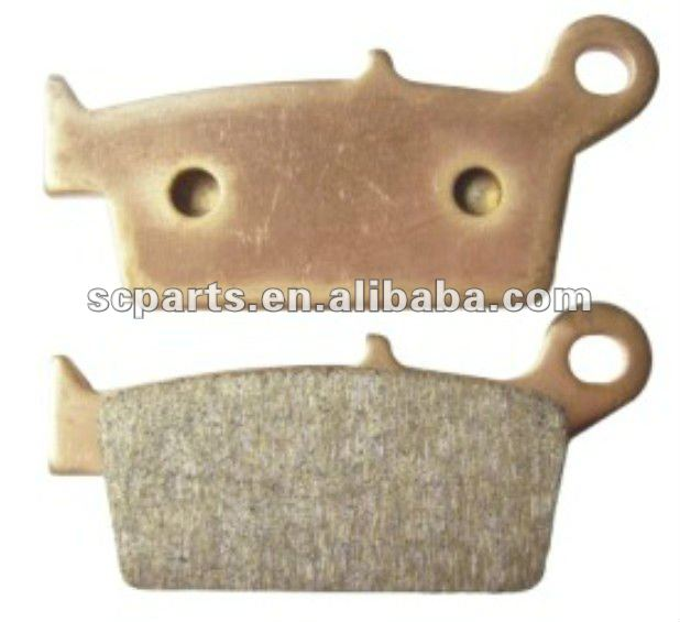 motorcycle sintered brake pad