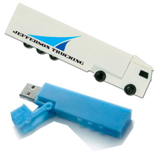 custom truck shape usb flash drives