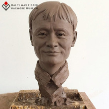 High-simulation vivid wax sculpture of world famous people