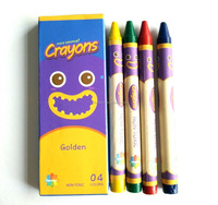 4ct Crayons With Color Box