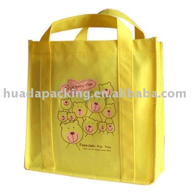 Eco reusable colorful foldable non woven bag,non woven shopping bag,pp non woven shopping bag