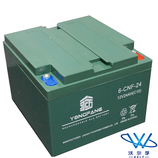 solar deep cycle lead acid GEL vrla storage solar batteries 12v 24ah