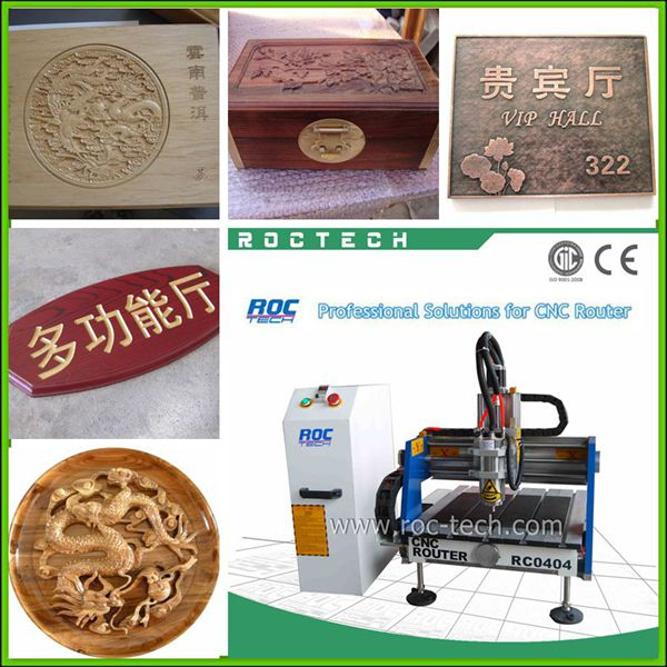 3D Mini CNC Metal Engraving Machine RC0404 For Steel