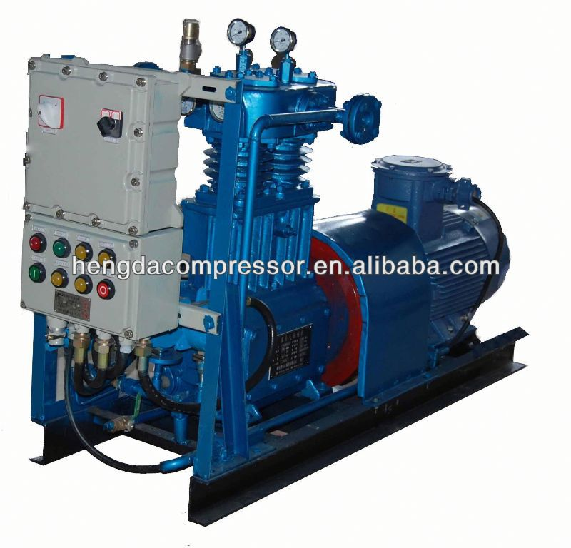40 bar high pressure air compressor for PET blow moulding machine 90Kw 5Mpa Biogas Compressor