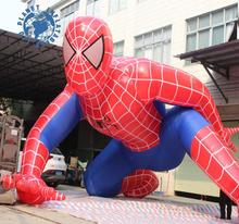 Factory directly Cartoon movie spiderman,inflatable spider-man model,inflatable decorative spiderman for sale