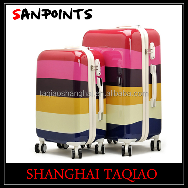 trolley suitcase sets travel luggage sets abs luggage pc luggage