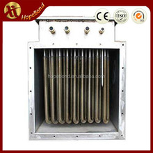 Industrial electric air force fin tube air heater