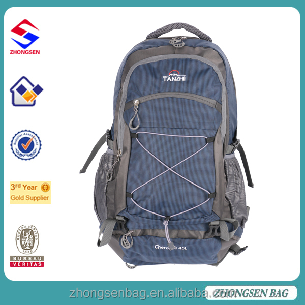 Backpack with rain cover mountaineering bag