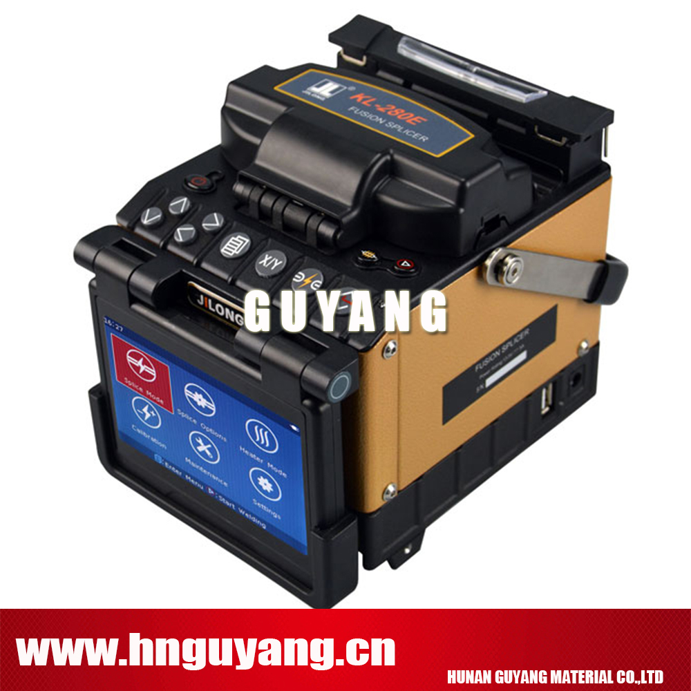 9 seconds Fiber Fusion Splicer SM/MM/DS/NZDS KL-280E FTTH Splicing Machine with Fiber Cleaver