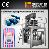 High quality automatic candy bar rotary packaging machine