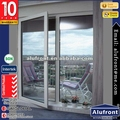 Elegant Aluminium Glass Hinges Door/Aluminium Swing Door