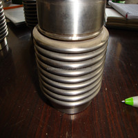 Flexible joint - stainless steel bellow expansion joint