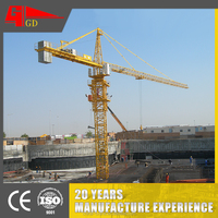 Comfortable lifting hoisting tower crane