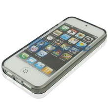 For Apple iPhone 5 Case , Slim Crystal Clear TPU Protective Cover Case for iPhone5