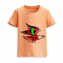Wholesale girls blank ruffle sleeve body engineers custom children t-shirt