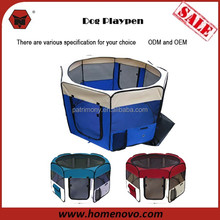 "High Quality 8 Panel 45"" Diameter Portable Lightweight Oxford Dog Kennel Pet Dog Playpen"