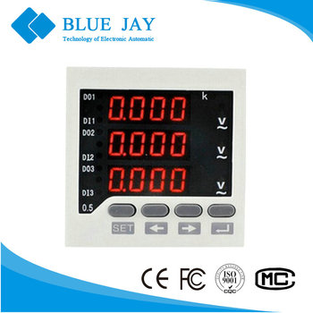 BE-80 80*80 3AV 0-500V digital voltmeter