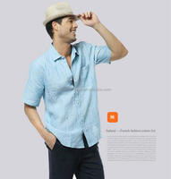 Wholesale lined big collar cheap plaid latest shirts for men pictures