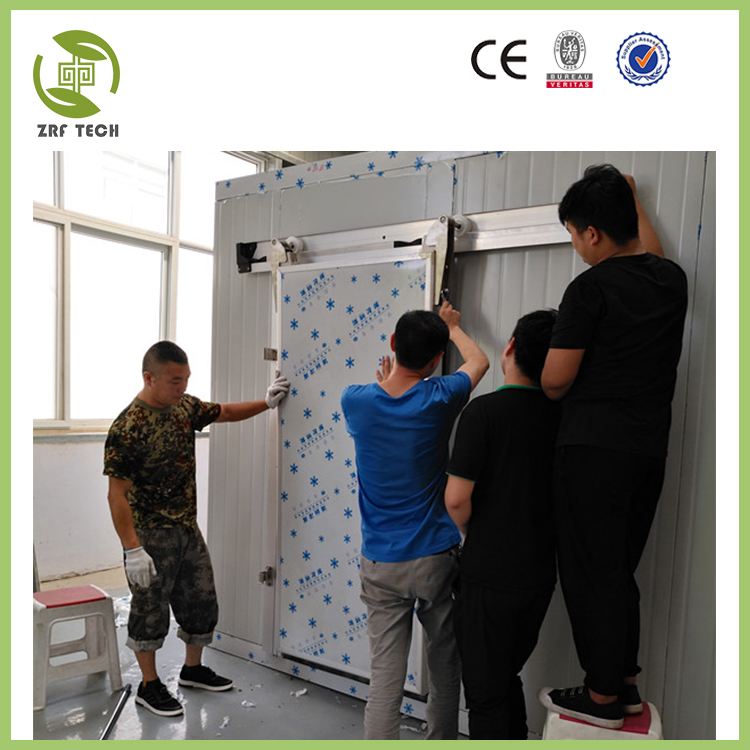 PU freezer room for meat fish vegetable , PU frozen room for hot selling