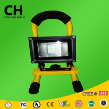 10 w cob y smd mango recargable de carga led exterior de trabajo light led flood light lámpara de mano portable