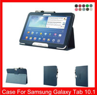 10.1 inch New Tablet Cover Leather Case With Stand Leather Bag Case for Samsung Galaxy Tab 3 Plus P8200