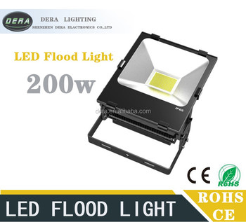 2016 price new hot sale chinese shenzhen led flood light 200w led outdoor lighting
