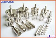 Electroplated diamond core dril bit