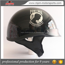 Motorcycle four seasons open Face vintage german Helmet with DOT