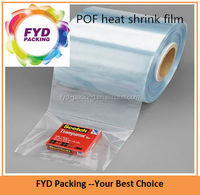 Polyolefin Shrink Film Gift Wrap In Plastic Package Film
