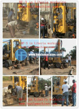 HFT-3 rotary drilling machine for irrigation water well drilling makita drill machine