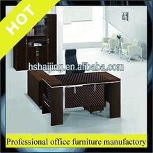 L shape office desk laminate office desk melamine furniture